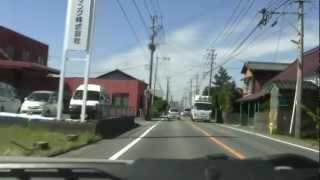 ドライブ動画 福岡県筑後市~三潴郡大木町へ 2012.10.13. ‐1
