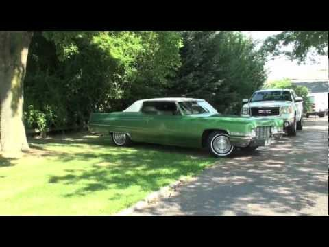 Ride Along in a 1969 CADILLAC COUPE DEVILLE