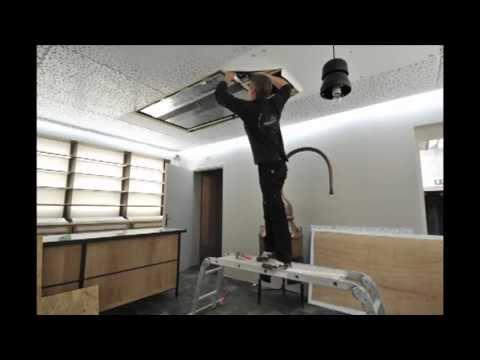 cr ation d 39 une trappe d 39 acc s dans un plafond tendu clipso. Black Bedroom Furniture Sets. Home Design Ideas