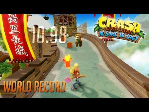 [BEAT] Crash B.: N.Sane Trilogy - Orient Express World Record!! (00:10.98)