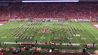 Three Dog Night Halftime Show University Of Wisconsin Marching Band