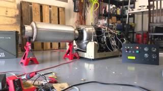Custom control panel for the gas turbine