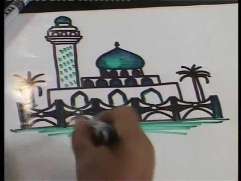 كيف نرسم ونلون كيفية رسم العتبات المقدسة برنامج ياتيكم من اذاعة وتلفزيون النهرين Youtube
