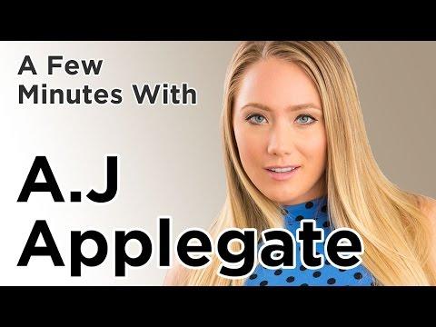 A Few Minutes with AJ Applegate thumbnail