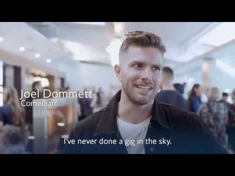 British Airways - Comedy Gig in the Sky