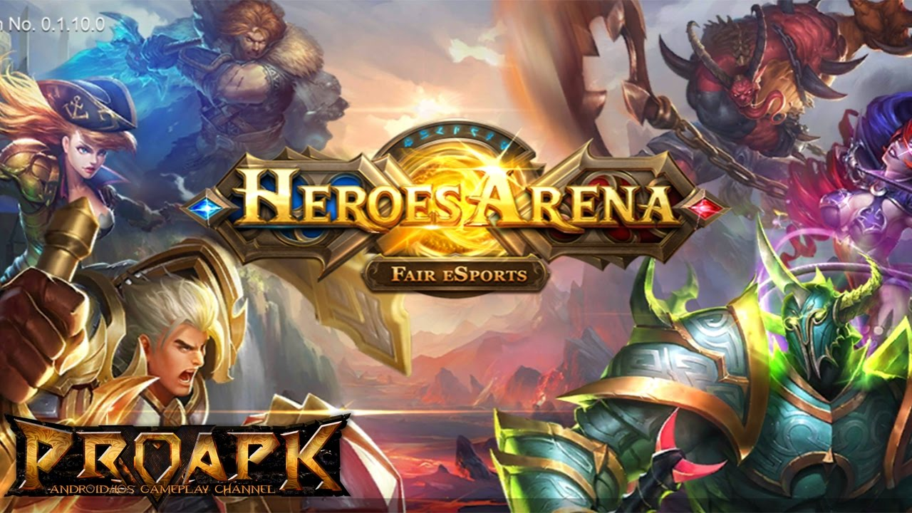 Heroes Arena Moba Gameplay Android Ios By Ucool Youtube