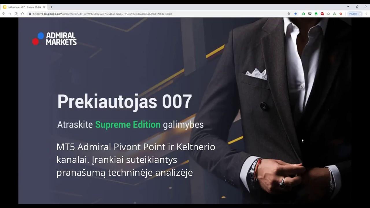 popierinės prekybos galimybių programa)