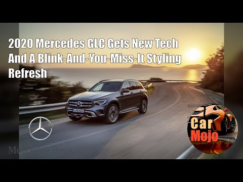 2020 Mercedes GLC Gets New Tech And A Blink-And-You-Miss-It Styling Refresh | CarMojo