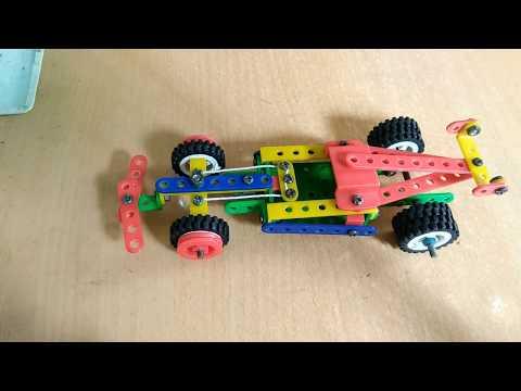 Hướng dẫn lắp xe đua F1-Xe công thức 1-Quay vô lăng như thật (Race car F1)