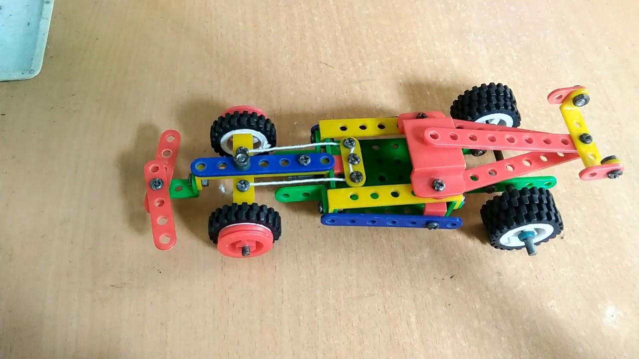 Hướng dẫn lắp xe đua F1-Quay vô lăng như thật (Race car F1)