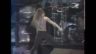 Skid Row - 1992 - Donington (Part 3) -  Youth Gone Wild - MTV