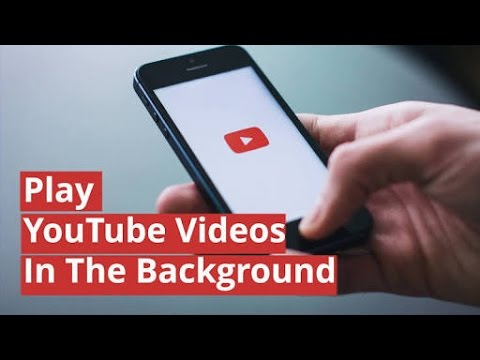 Play YouTube Videos,songs in background without any apk