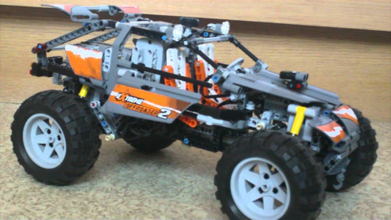 b model lego 8297 4wd jeep extreme off roader youtube. Black Bedroom Furniture Sets. Home Design Ideas