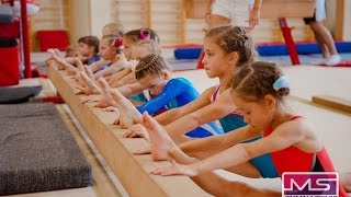 спортивная гимнастика для детей видео