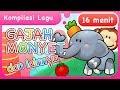 Lagu Lagu Anak  Gajah, Monyet dan lainnya