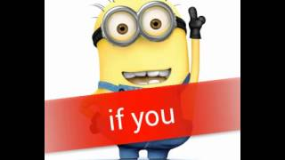 If You - Big Bang (Minions Ver)