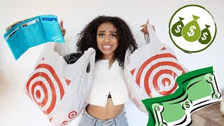 back to school try on clothing haul *only from target* ft. happy wallet