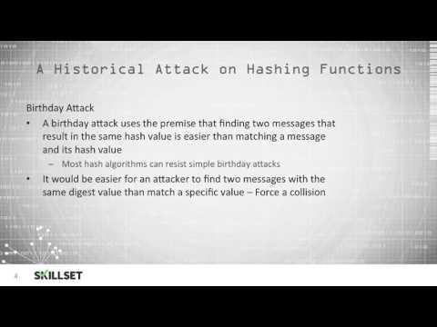 Cryptanalytic Attacks (CISSP Free by Skillset.com)