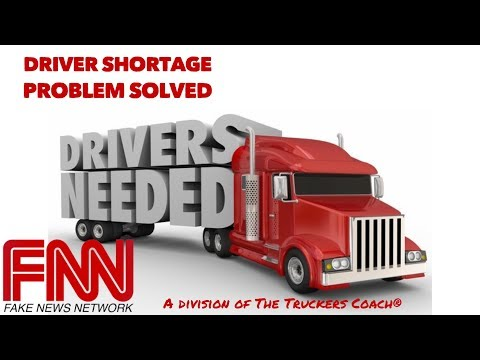 Trucking Companies : Sure fire way to end Driver shortage and high turnover ratios