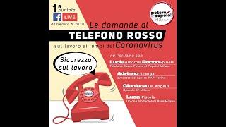 """Potere al popolo Milano presenta """"Le domande al telefono rosso-Il lavoro ai tempi del coronavirus/1"""""""