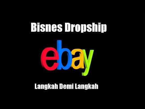 Dropship Ebay - Langkah Demi Langkah