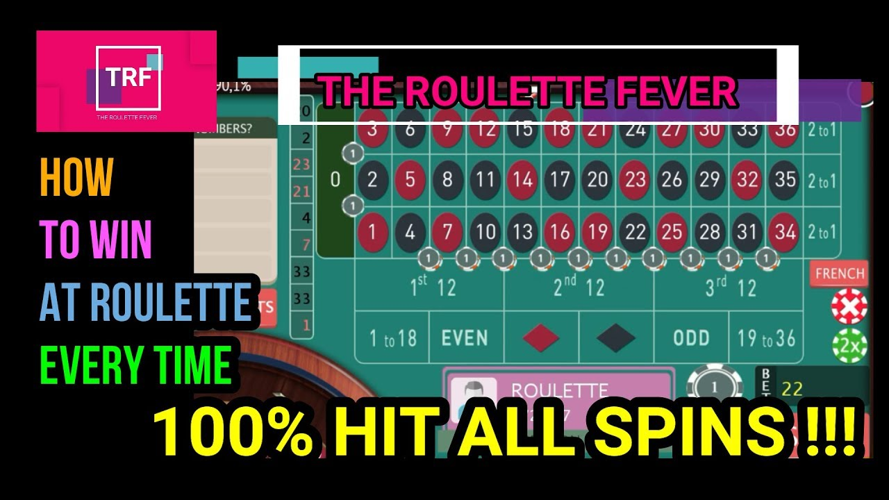 How To Win At Roulette All The Time | We Play All The Roulette ...