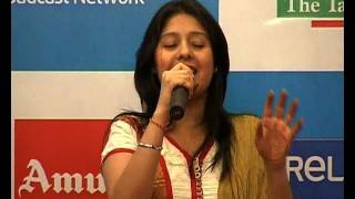 Sunidhi Chauhan Sings Amul Song