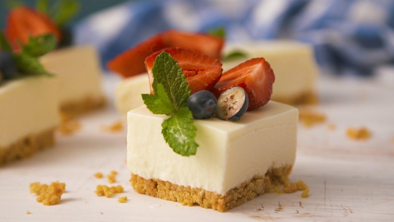 3-Ingredient Microwave Cheesecake - YouTube