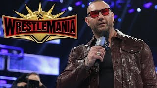 Dave Bautista in Talks With WWE for WrestleMania 35 Match, AEW Also Interested