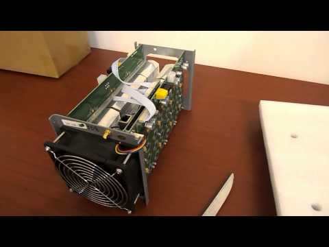 Unboxing ANTMINER S1