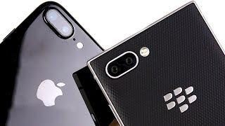 Video iPhone 7 Plus vs BlackBerry Key2 Speed Test! download MP3, 3GP, MP4, WEBM, AVI, FLV September 2018