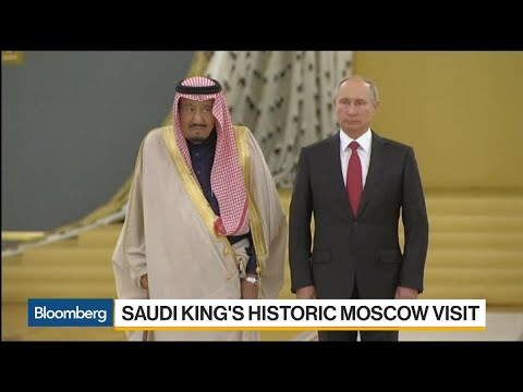 Putin Welcomes Saudi King in Historic Moscow Visit