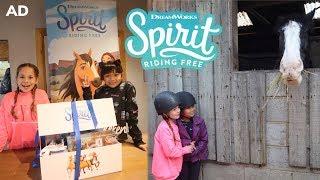 Zapętlaj Spirit Riding Free Riding Day and Winner Announcement - Advert | Little Lady C