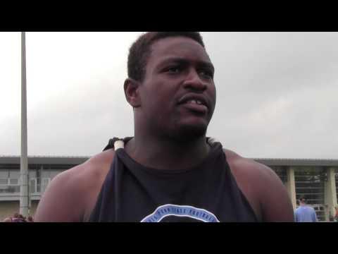 Penn State LB Jason Cabinda - 8/19/2015