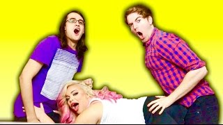 vuclip SEX POSITION CHALLENGE! (with Trisha Paytas & Drew Monson)