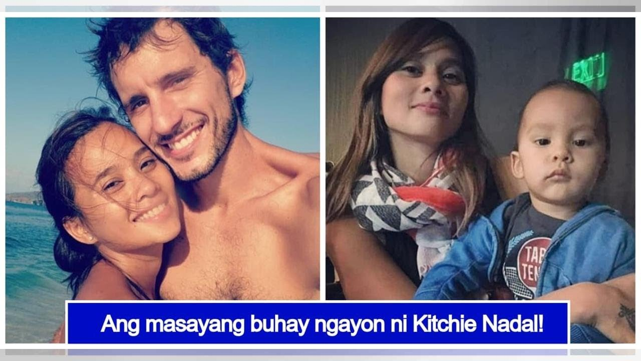 Kitchie Nadal Is Now Living A Quiet Life With Her Spanish Husband Their Child Youtube