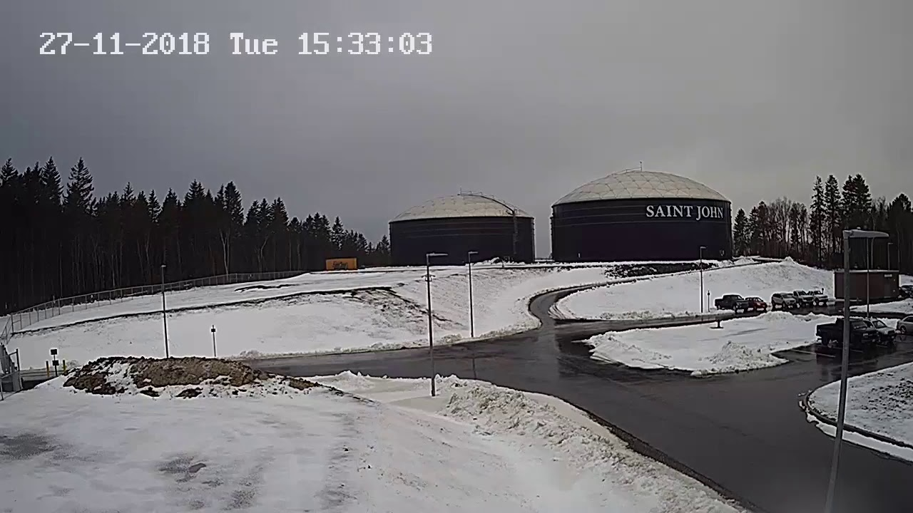 Web Cam image of Saint John Water Treatment Plant 2