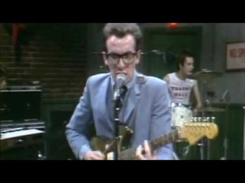 Elvis Costello - Radio Radio - SNL original footage 1977 (first portion only)