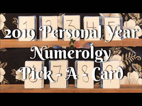 2019 Numerology Pick A Card Reading 😀