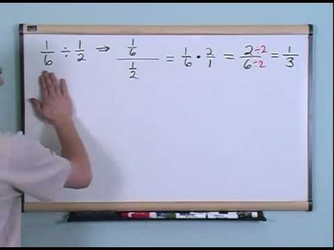 Dividing Fractions 4th Grade Math Tutor Youtube