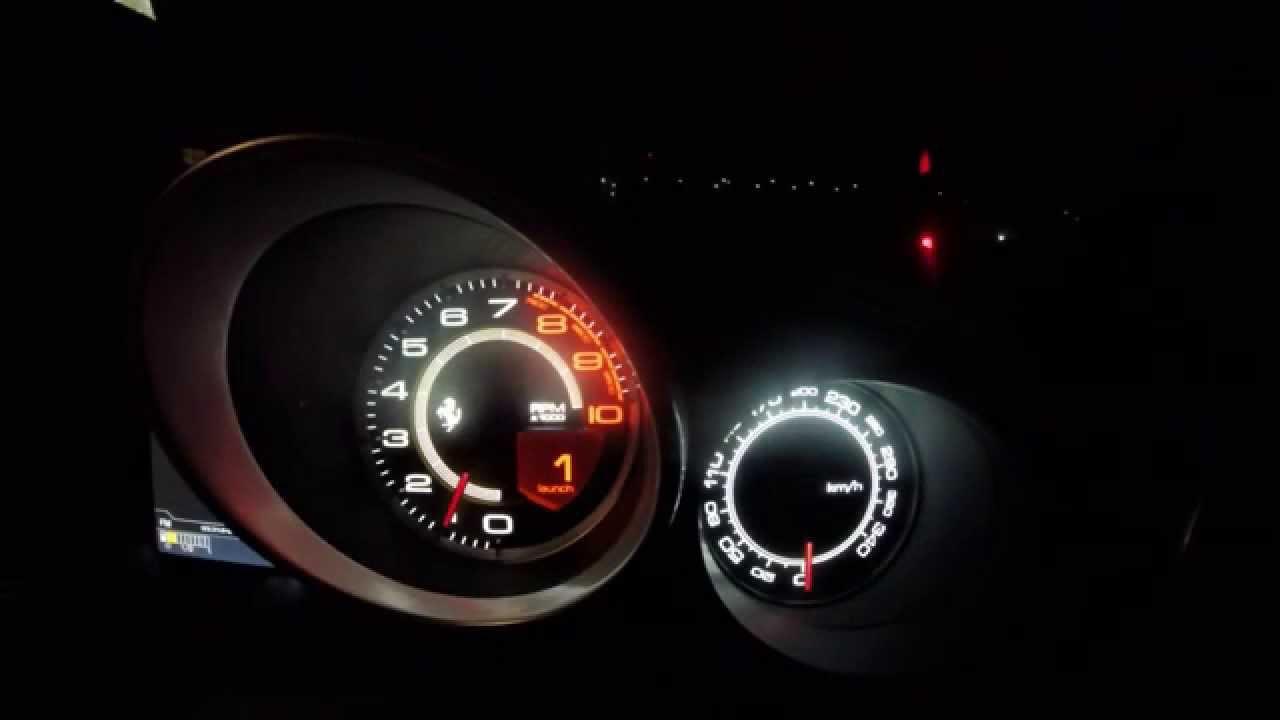 Ferrari California T acceleration & noise 0-100 mph - YouTube