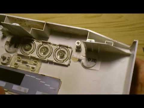 Ремонт клавиши включения стиральной машины LG серий 10000, 12000, 80000