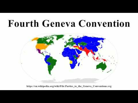 Fourth Geneva Convention