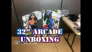 "32"" Arcade Kit - Whats in the Box? (Game Room Solutions)"