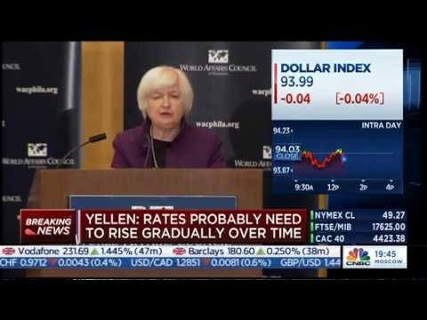 Fed Chair Janet Yellen shares insights into U.S economy ahead of interest rate decision