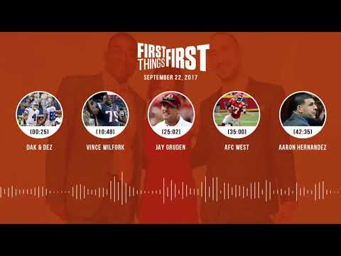 First Things First audio podcast(9.22.17) Cris Carter, Nick Wright, Jenna Wolfe | FIRST THINGS FIRST