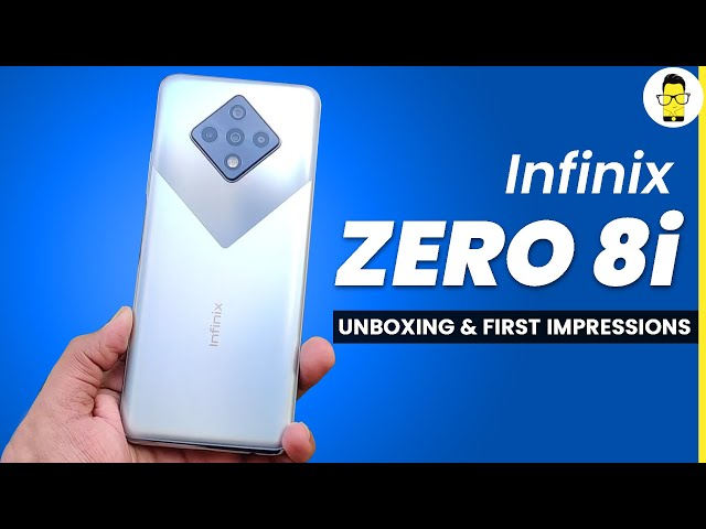 Infinix Zero 8i Unboxing & First Impressions | Rs.14,999 | A Big Surprise!