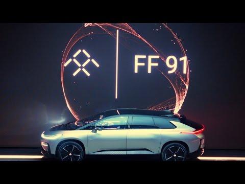 HOT NEWS 2017!!! Faraday Future to take on Tesla at Pikes Peak