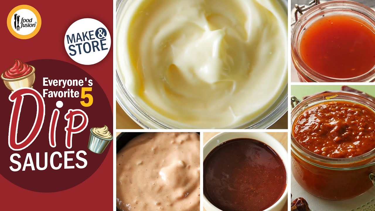 Download Everyone's favorite 5 dip sauces Recipes By Food Fusion