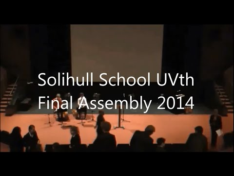 UVth Final Assembly 2014 in full